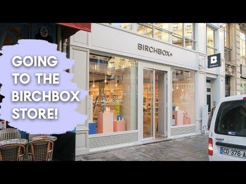 VISITING THE BIRCHBOX SHOP! • Emma Rose Daniels