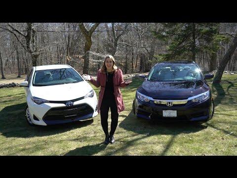 2017 Honda Civic vs 2017 Toyota Corolla   Car Comparison