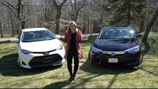 2017 Honda Civic vs 2017 Toyota Corolla | Car Comparison