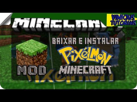 Скачать Pixelmon для Minecraft