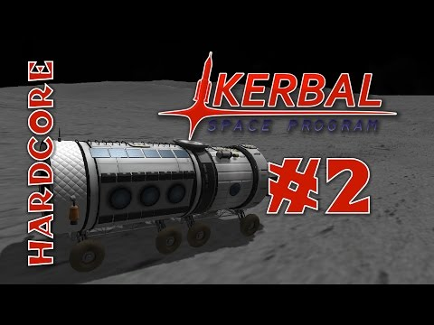 Kerbal Space Program - Hard Mode Mods! - Ep #2 - [RemoteTech, TAC Life Support, KAS/KIS]