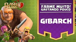 O DESAFIO MAIS RÁPIDO QUE FIZ! GIBARCH, O DESAFIO DO FARM! CLASH OF CLANS