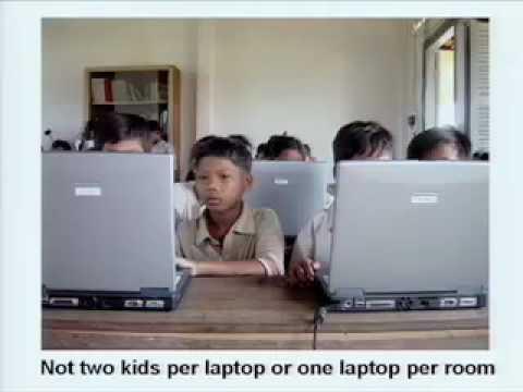 Nicholas Negroponte: The vision behind One Laptop Per Child