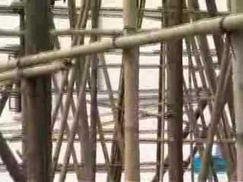 Hong Kong Building Bamboo Scaffolding Youtube