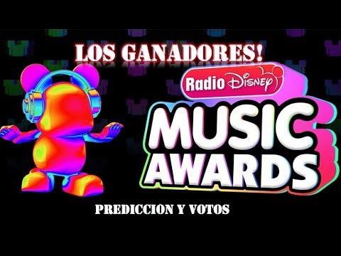 RADIO DISNEY MUSIC AWARDS 2018 LOS GANADORES! | PREDICCIÓN Y VOTOS