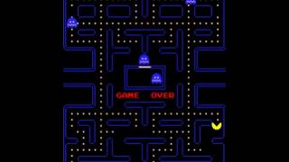 Pac-Man (Namco 1980)  Attract Mode 60fps