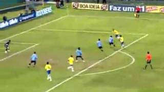 Uruguay 0 x 4 Brasil - Eliminatorias 2010 - gols - South American World Cup Qualifiers