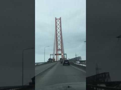 Вантовый мост через реку Обь в г. Сургуте