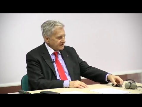 EPOG seminar #61 – Jean-Claude Trichet: Central Banking. Fundamentals and Open Questions