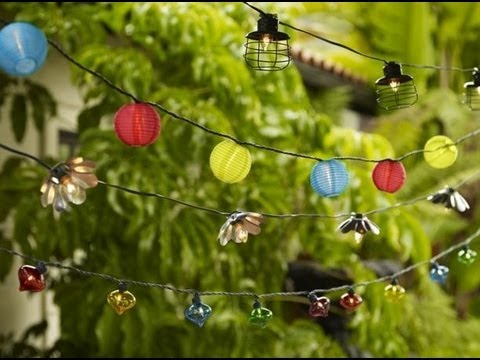 Fun Patio Lighting Ideas -- Quick Outdoor Lighting Tips for Outdoor Entertainment Areas