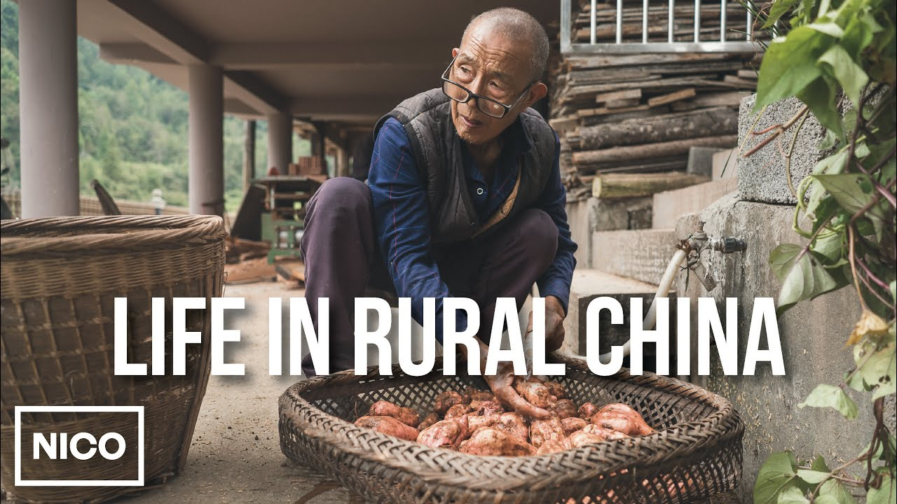 Day in the life of a Chinese farmer in his 80s
