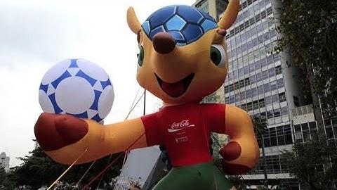 """WM 2014: Maskottchen heißt """"Fuleco"""""""