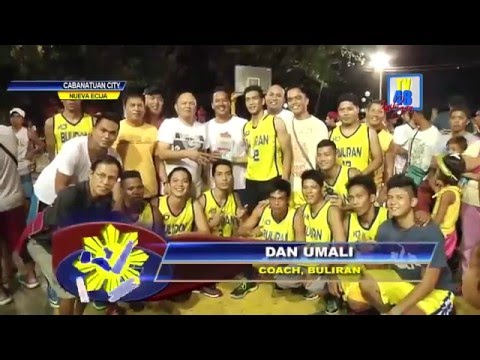 Brgy Buliran, kampeon sa 1st Inter Barangay Tournament ng Cabanatuan City