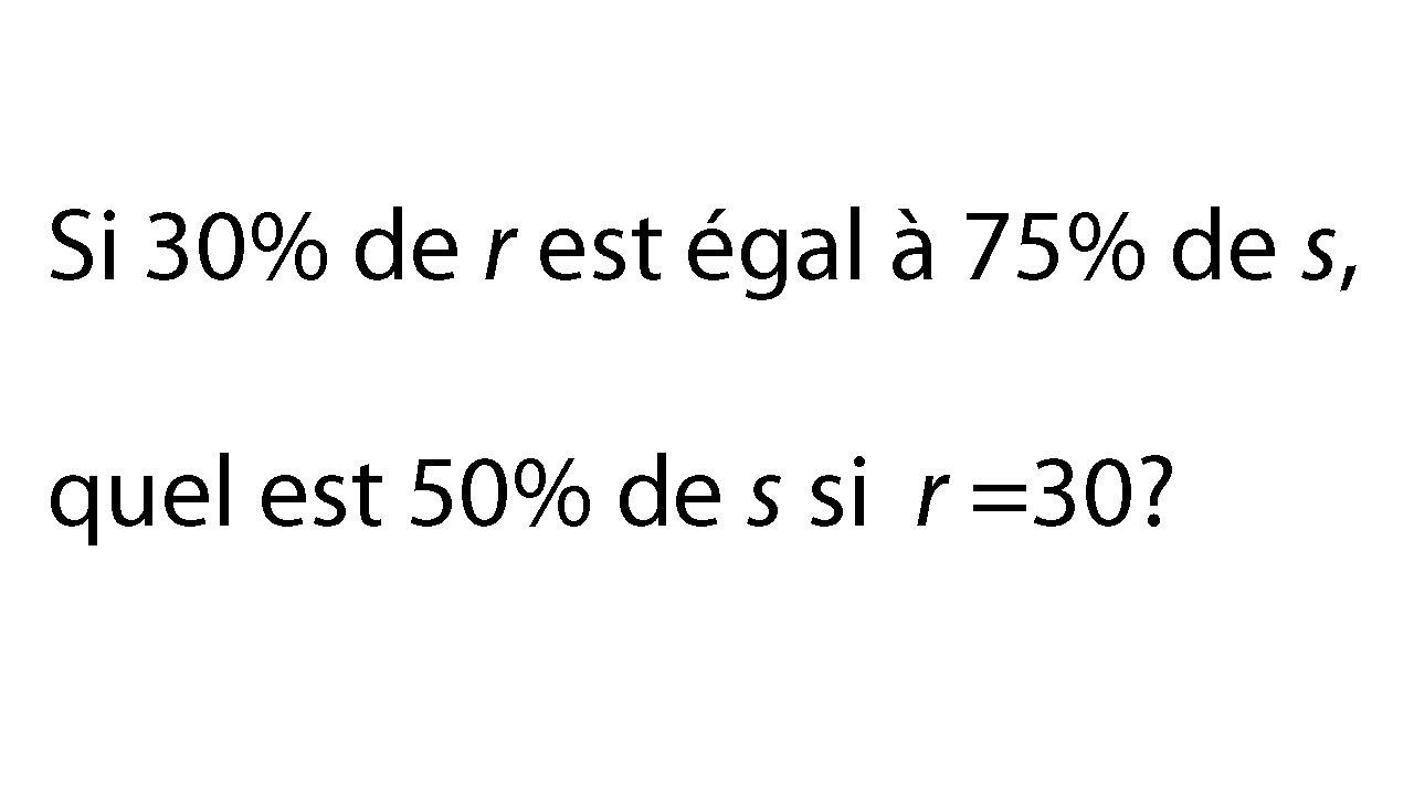 exercice d u0026 39 alg u00e8bre  pourcentage