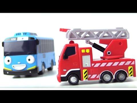 Автобус Тайо и разноцветные МАШИНКИ - Развивающее видео для детей