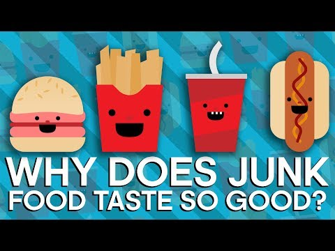Why Does Junk Food Taste SO GOOD? | Earth Lab