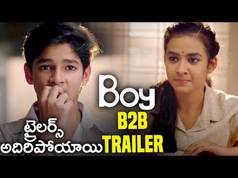 Boy Movie Back to Back Trailers | Lakshya Sinha, Sahiti,  Amar Viswaraj #BoyTeluguTrailer