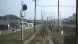 2006年4月西鉄宮地岳線西鉄古賀→花見前面展望