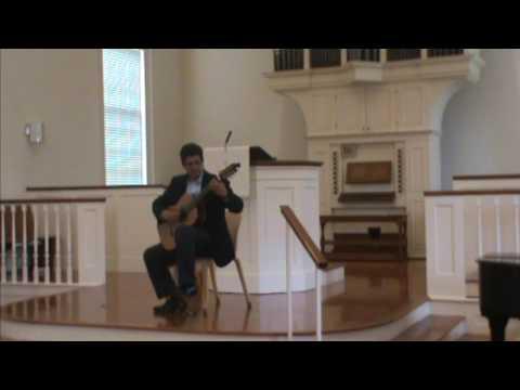 Westminster Presbyterian Church, Charlottesville Classical Guitar Recital