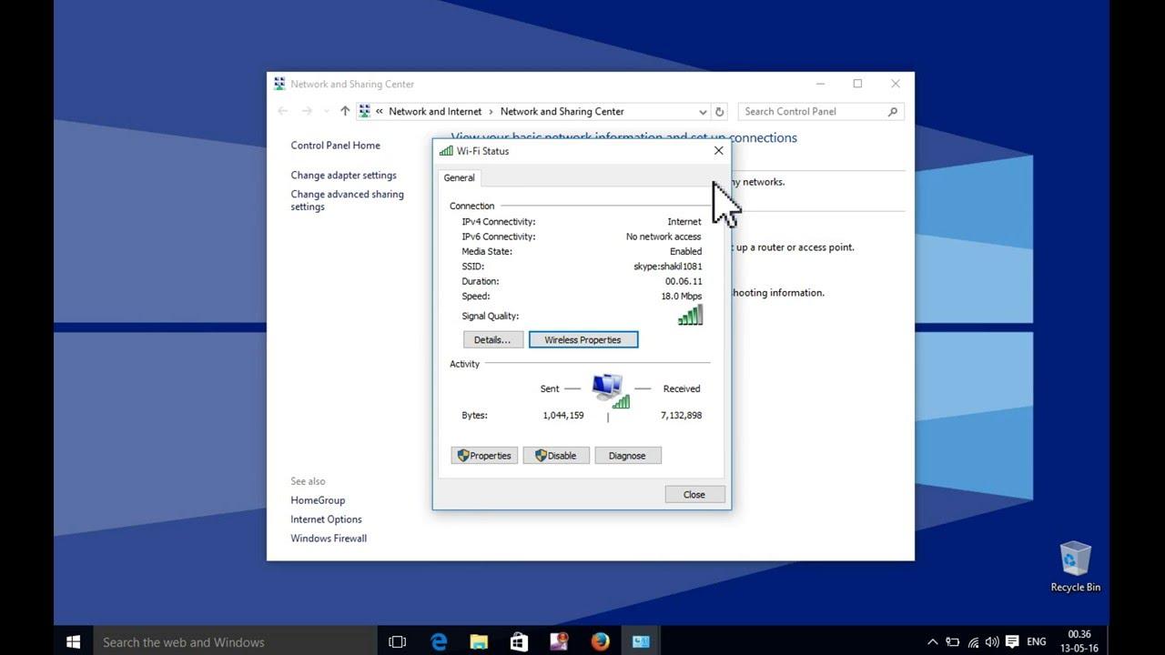 windows 7 recover wifi password