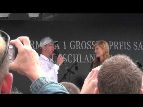 Formel 1 Interviews Hockenheimring 2012