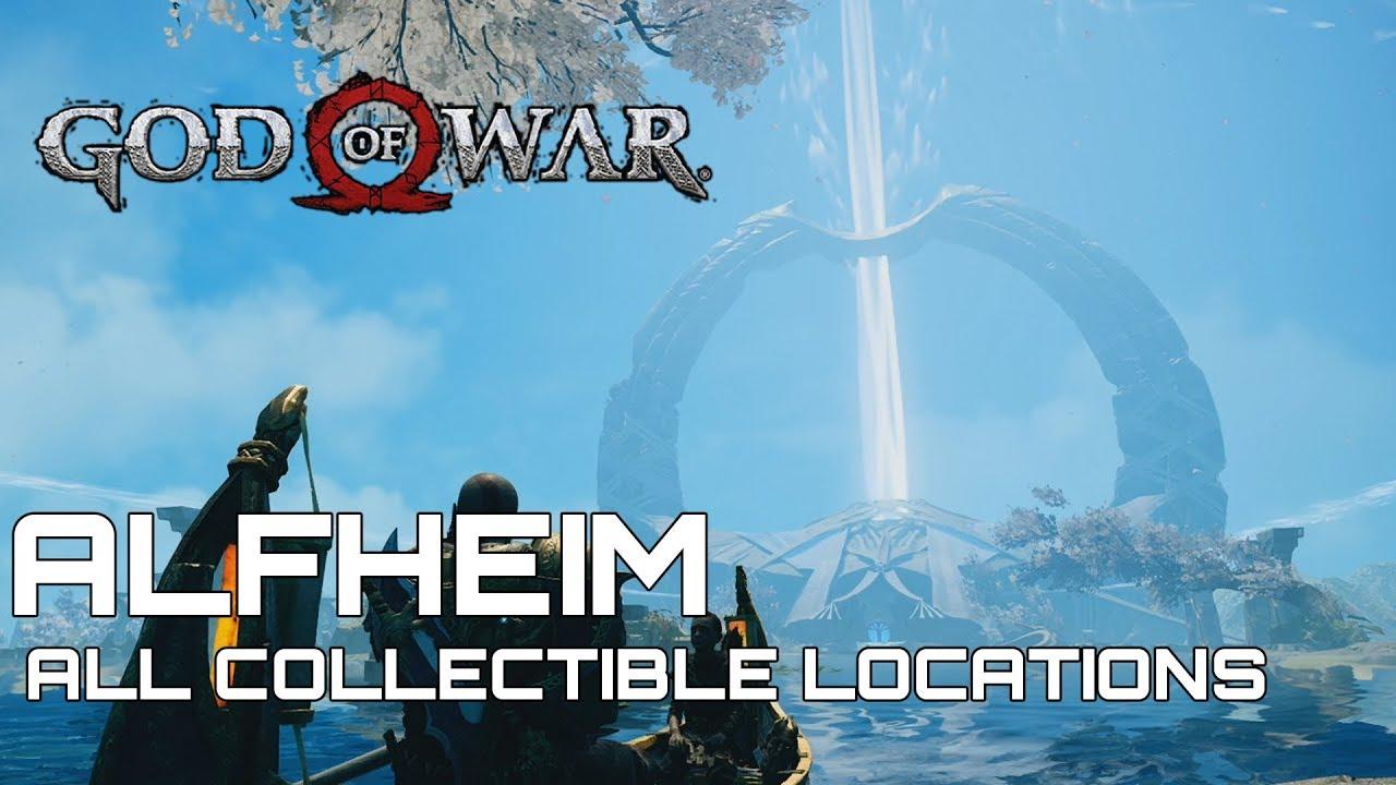 God Of War 100 Collectible Guide Alfheim
