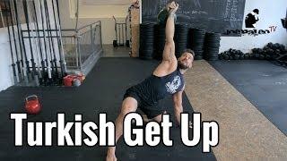 Turkish Get-Up | Beste Übung für die Schulter!