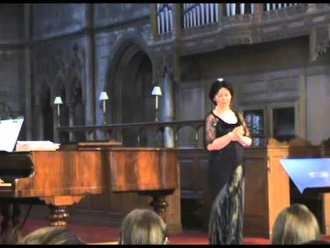 Un Bel Di Vedremo from madame butterfly by helen ogden