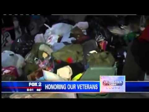 Personal Injury Law Firm in Michigan Hosts Veterans Fundraiser: Fox 2 News TV Interview
