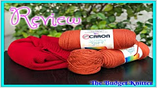 The Budget Knitter Reviews: Caron Simply Soft