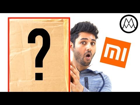 Mystery package from XIAOMI.