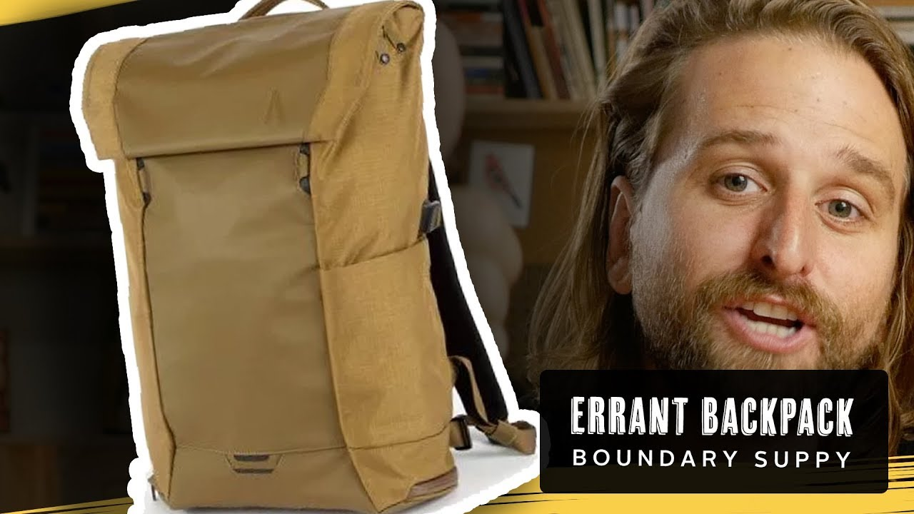 Best Tech Backpack 2020 Best Tech Backpack? Boundary Supply Errant   YouTube