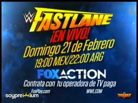 WWE Fastlane 2016 | Febrero 21, 2016 | Cleveland, Ohio | Promo en Español.