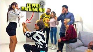 LE PIDO MATRIMONIO A MI NOVIA EN FRENTE DE MI FAMILIA! (Romeli)