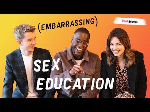 Sex Education's Emma Mackey, Ncuti Gatwa & Asa Butterfield