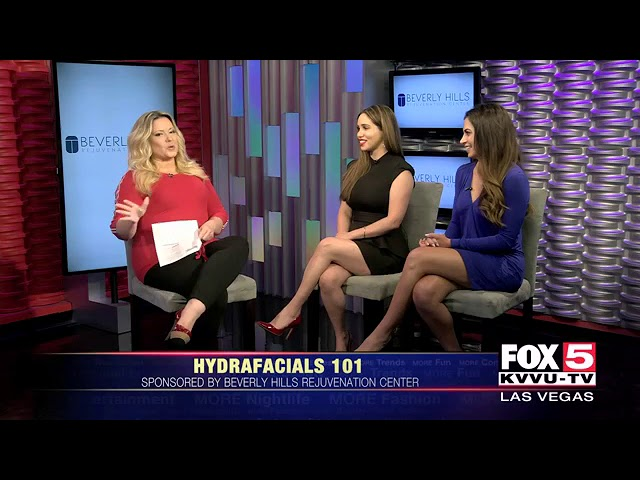 BHRC on Fox More Morning Show featuring HydraFacial | Beverly Hills Rejuvenation Center