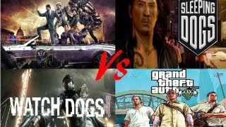 GTA 5 Vs Watch Dogs Vs Sleeping Dogs Vs Saints Row IV