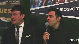 Eurosport Home Nations Launch: O'Sullivan Reflects On Golden Era