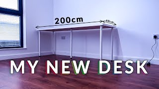 Building My NEW Gaming Setup - The Desk (Part 1)