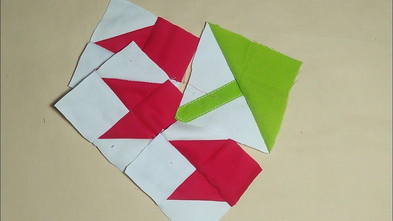 Download Red flower quilt design,New quilt patterns,Sindhi rilli design,faliya ke design,baby quilt design