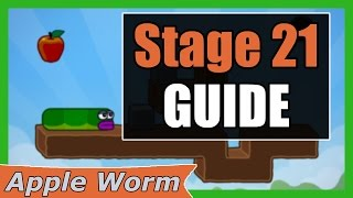 Apple Worm Level 21 Guide