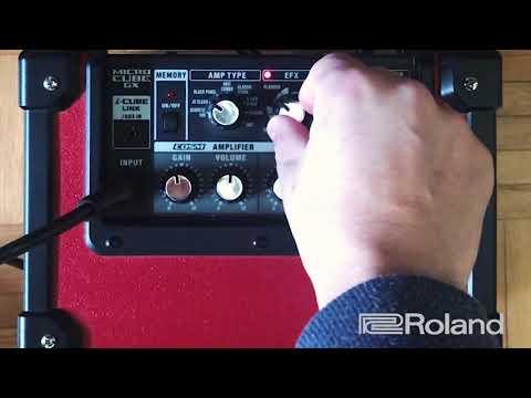 Roland MicroCube GX Tone -Review- (Español)