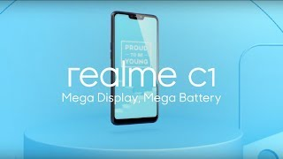 Realme C1   Mega Display, Mega Battery thumbnail