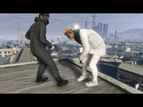 GTA V Rockstar Editor  The chase