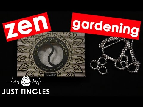 ASMR | Zen Gardening And Playing With Ningbo Balls | NO TALKING