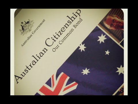 Australian Citizenship Naturalization Test 2017 (OFFICIAL)