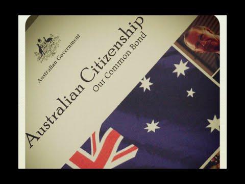Australian Citizenship Naturalization Test 2017 (OFFICIAL)