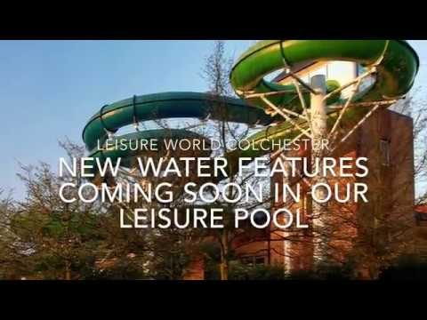 New Leisure Pool Water Features Coming Soon At Leisure World Colchester Youtube