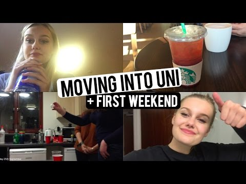 MOVING INTO UNI + FIRST WEEKEND! CaitlinRoseVlogs
