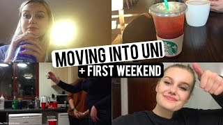 MOVING INTO UNI + FIRST WEEKEND! CaitlinRoseVlogs thumbnail